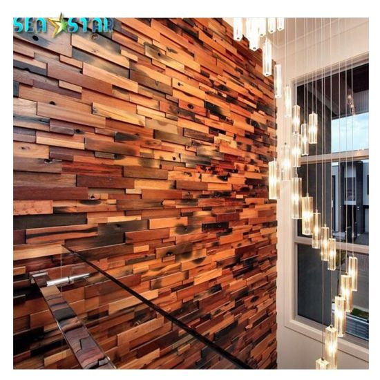 China Reclaimed Wood Wall Paper House