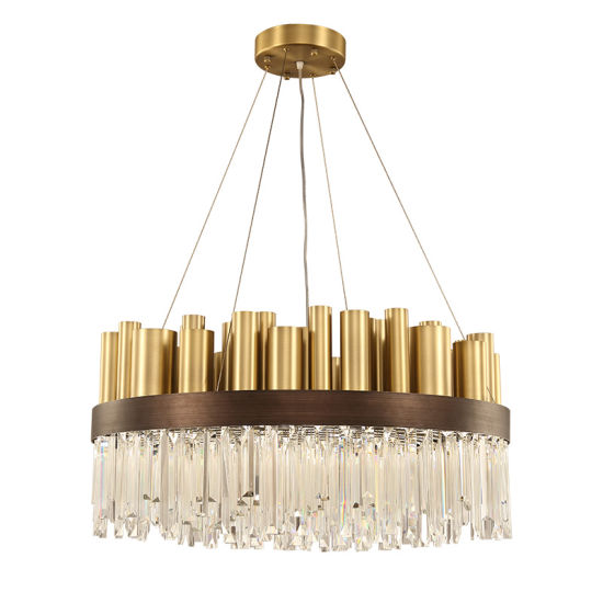 China LED Crystal Chandelier Lighting Modern Decoration Pendant ...