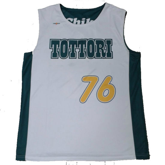 98aed705d China 100% Polyester Wholesale Sublimation Logo Basketball Jersey ...