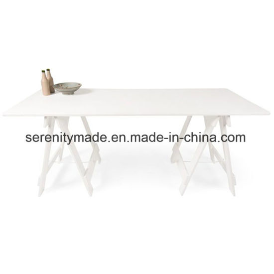 Minimalist Hospitality Futniture Solid Ash Wood/Timber Table For Living/Dining  Room