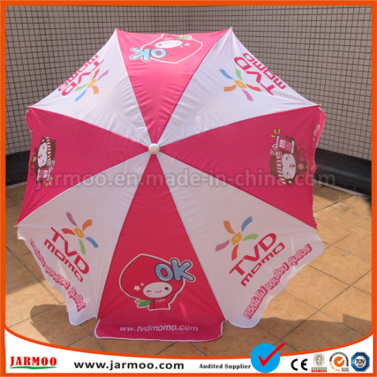 Aluminum Folding Sun Umbrella Parasol pictures & photos