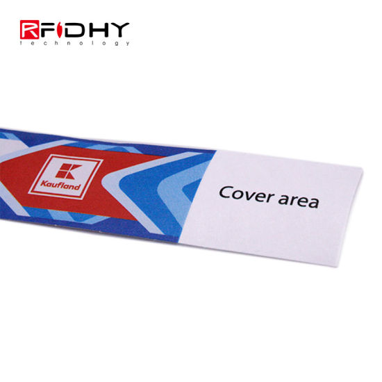 Beautiful and Cheap Single Use Tyvek RFID Wristband for Exhibition Events pictures & photos