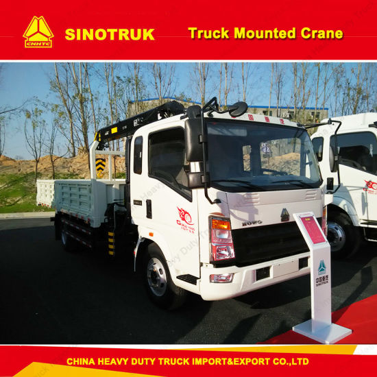Sinotruk 4X2 10 Tons Truck Mounted Crane, Made in China pictures & photos