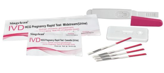 HCG Pregnancy Test Strip/Rapid Diagnostic Test Kit pictures & photos