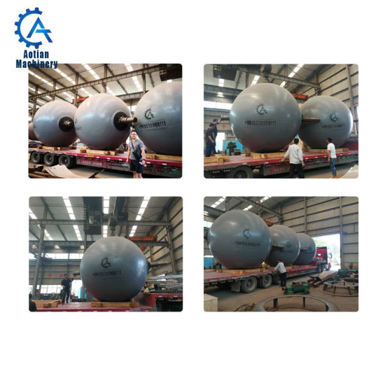 Paper Product Making Machinery Stainless Steel Rotary Spherical Digester
