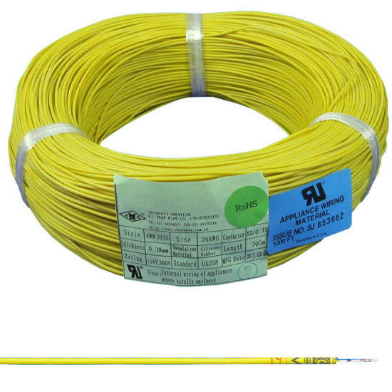 China 3kv UL3132 Silicone Insulated Copper Wire for Car Lights ...