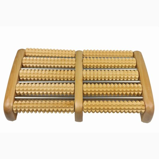 High Quality 10 Rolling Wooden Feet and Body Rolling Massage