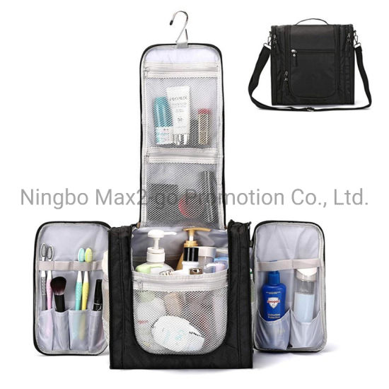 Large Hanging Travel Toiletry Bag for Men and Women Waterproof Makeup Organizer Bag