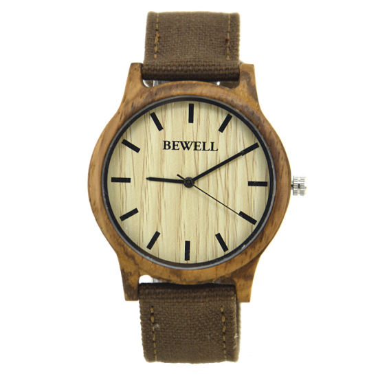 Best Selling Promotion Cheap Gifts Quartz Custom Logo Zebra Wooden Watches pictures & photos
