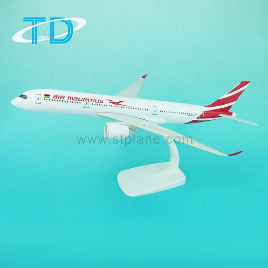 China A350-900 Air Mauritius 1/200 Scale Aircraft Plastic Plane
