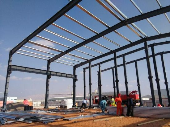 Prefabricated Galvanized Cold Rolled Steel Structure Workshop/Warehouse pictures & photos
