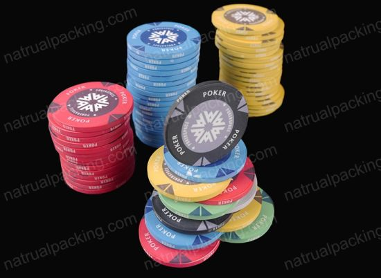 High Quality Customized Clay Poker Chips Without PAR Value Jetton pictures & photos