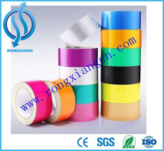 Reflective Tape for Temporary Traffic Signs and Outdoor Advertising pictures & photos