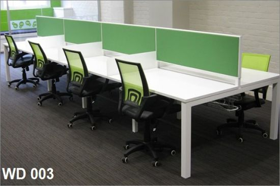 China Modern Factory Modular Workstation For Small Office Linear Design Fecwd003 China Modular Office Furniture Office Partition