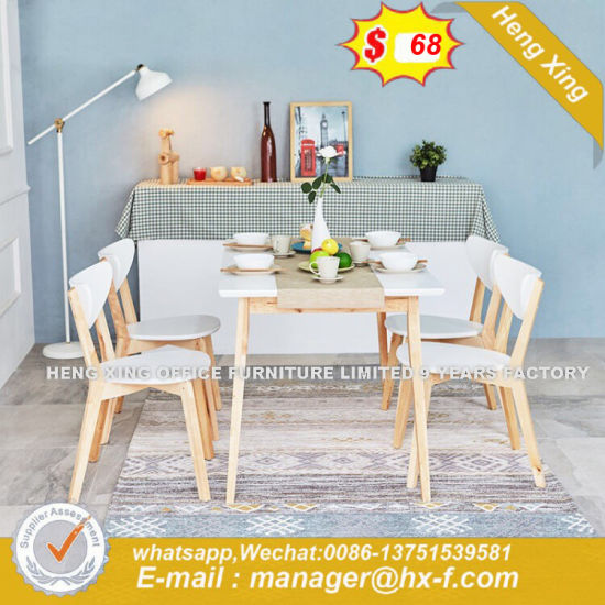 Outdoor Steel Yellow Marble Dining Table (HX-8DN001) pictures & photos