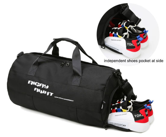 Sports Gym Bag With Shoes Compartment Large Capacity Lightweight Duffle Bag For Men Women Sea Creature Travel Duffel Bag