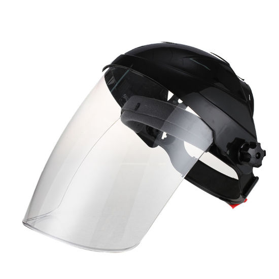 Safety Helmet with PC Organic Dust Proof Visor Welding safety Face Shield