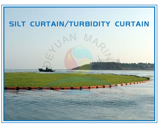 China Floating Turbidity Curtains And Silt Curtains Pvc Boom For