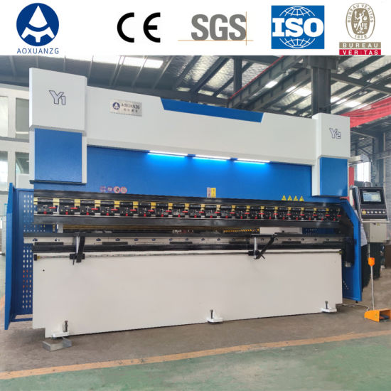 3+1 Axis Hydraulic Automatic CNC Press Brake for Metal Steel