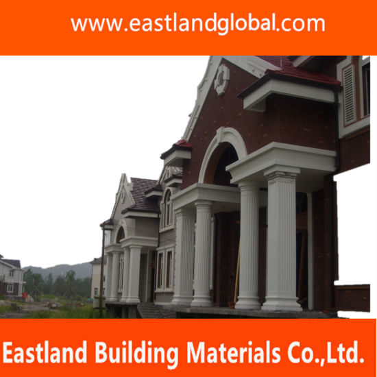 China European Eps Cornice Moulding For Exterior Construction Design China Eps Column Foam Moulding Eps Fireplane