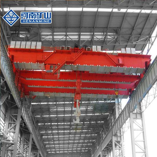 PLC Control Double Girder Overhead Crane-Metallurgy Fountry Casting Crane