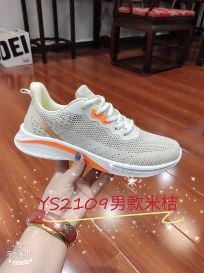 2021 New Arrival Fashion Shoes Sports Shoes Brand Footwear, New Style Casual Men Running Sneaker Shoes, Low MOQ Stock Comfortable Leisure Shoes