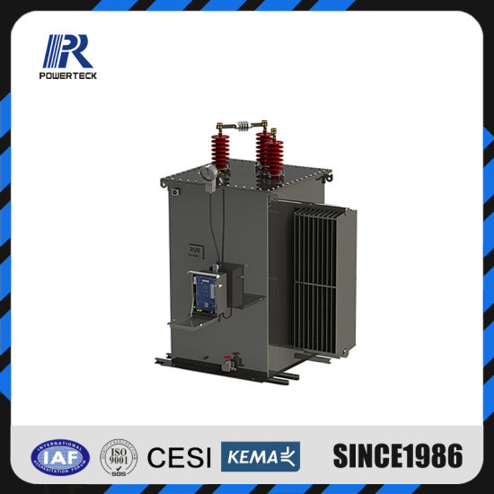 32 Step Single Phase Pole Mounted Oil Immersed Type Voltage Regulator