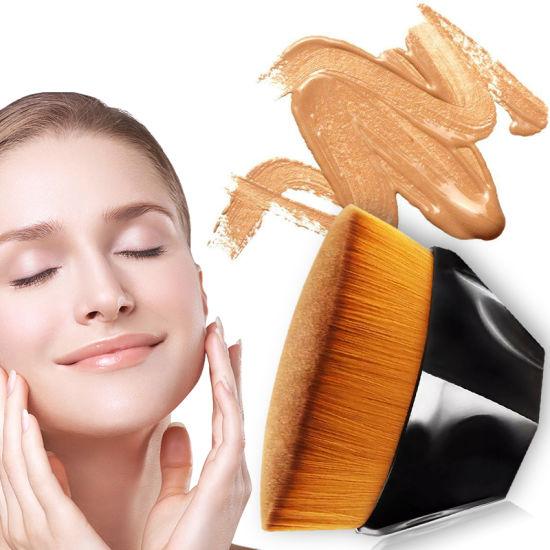 2021 New Make up Tools Single Flat Head Foundation Makeup Brush