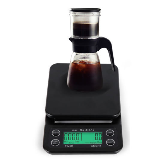 Factory Wholesales Digital Kitchen Food Coffee Weighing Timer Scale