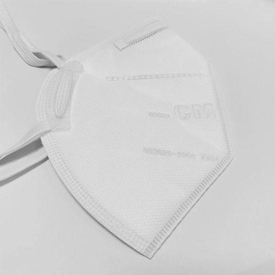 Anti Pollution Haze Disposable Non Valve Kn95 Face Mask for Daily Protective Mask