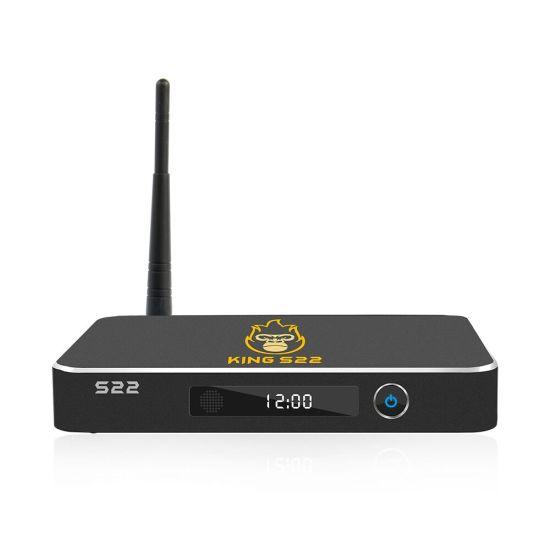 2020 New King S22 Amlogic S922X 4+32GB Storage The Best Android 9.0 IPTV Streaming Channels IPTV Box
