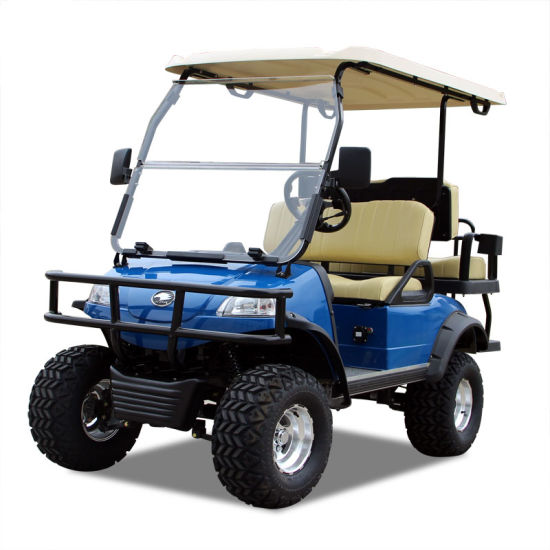Electric Buggy Golf Cart Hunting Car (DEL2022D2Z, blue)