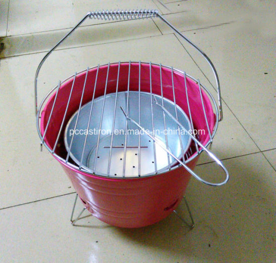 New Portable BBQ Grill Bucket Design Wholesale From China