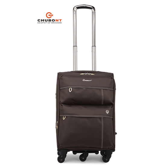 8be1c5933372 China Chubont Waterproof Nylon Spinner Wheels Soft Travel Trolley ...