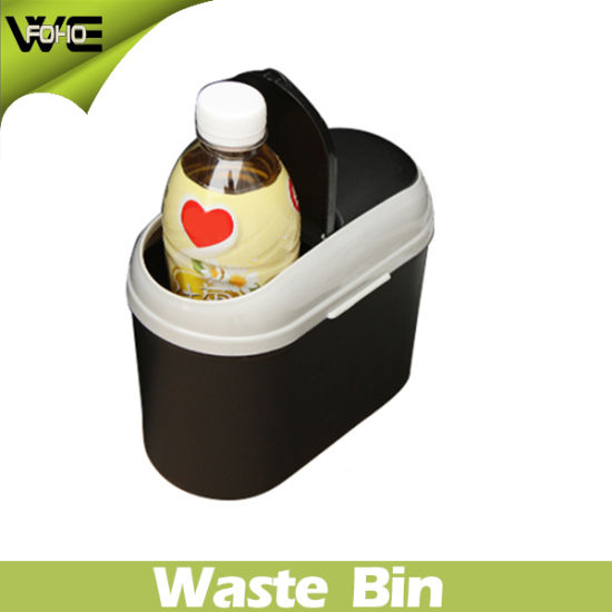 Small Waste Container Colorful Outdoor Plastic Car Dustbin pictures & photos