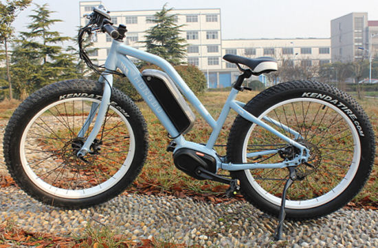 MID Drive MTB E-Bike with 4.0inch Fat Tire En15194 Approved pictures & photos