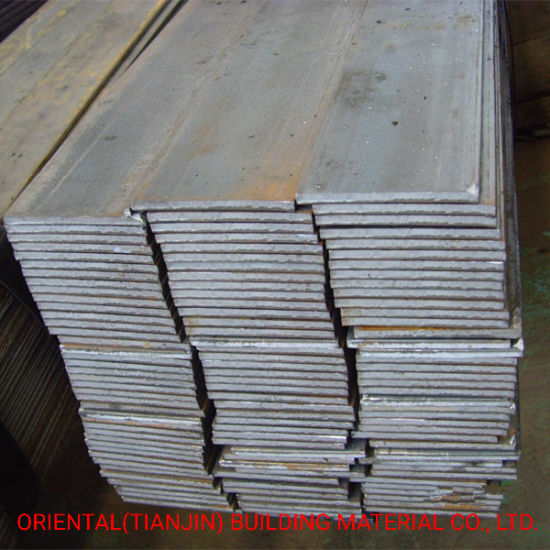 Hot Rolled Steel Flat Bar with Cut Edge and Slid Edge, Q235, Q345 pictures & photos