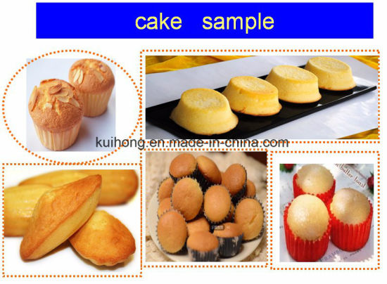 Kh-600 Ce Approved Cream Cake Machine pictures & photos