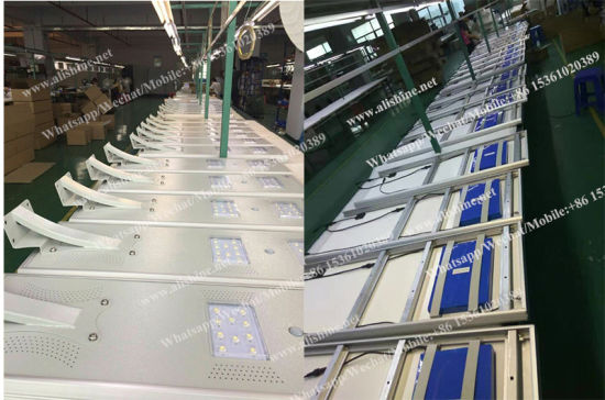 China Factory Integrated LED Solar Street Light with Price List pictures & photos