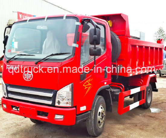 Brand New FAW 3 Ton Light Tipping Truck, tipper truck pictures & photos