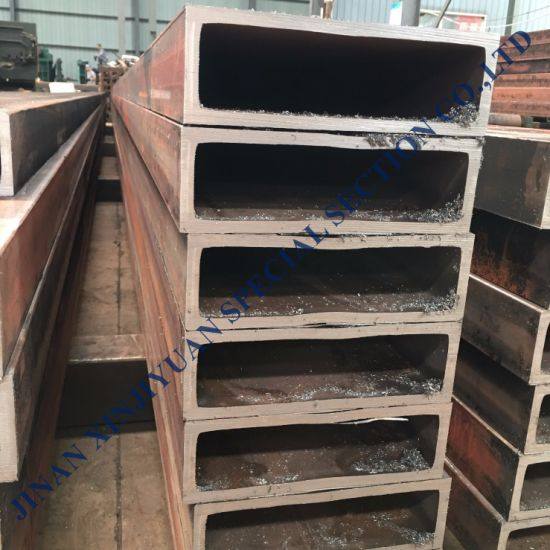 China Supplier ERW Non Alloy Hollow Section Hot Dipped Galvanized 150mm Square Gi Steel Tube Price Per Ton