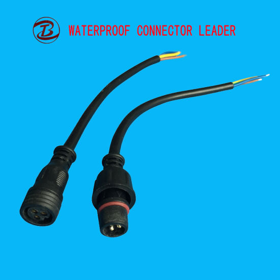 Ip68 Ul Ce Rohs Roved 3 Pin Male To Electrical Plug