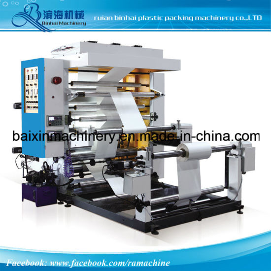 Multicolors Flexo Printing Machinery 2 Colors to 8 Colors pictures & photos