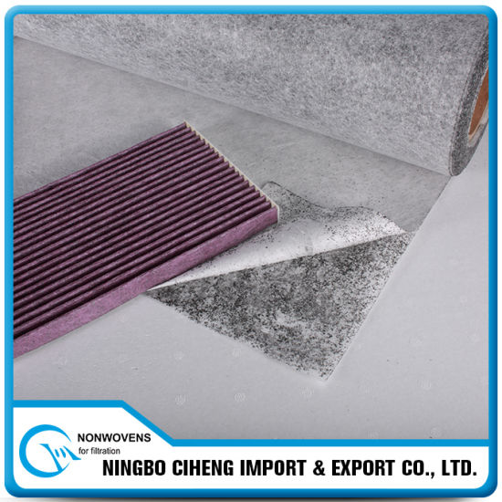 Air Filter Media Activated Carbon