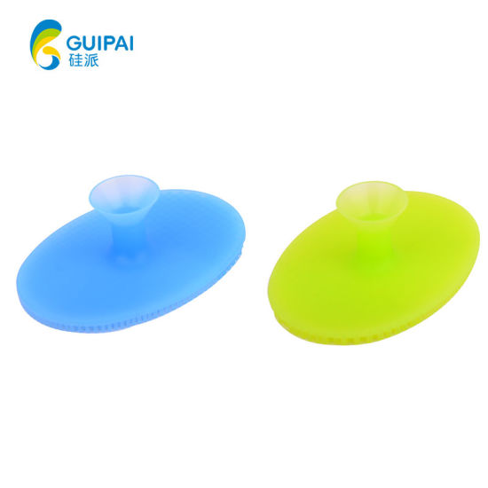 China Eco Friendly Deep Facial Cleansing Silicone Face Exfoliator