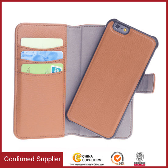 best website 41b67 9030d Wallet Detachable Separable Magnetic Folio Phone Case for iPhone 8