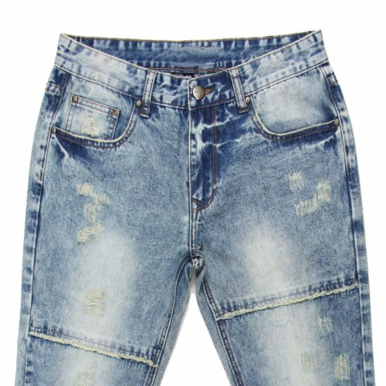 Fashion Spring 2017 Men Straight Denim Jeans (MYX02) pictures & photos