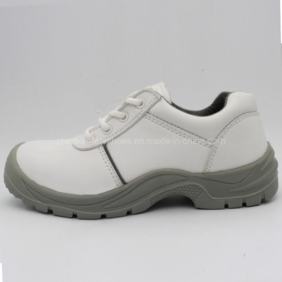 Food Industry Steel Toe White Safety Shoes/Work Shoes