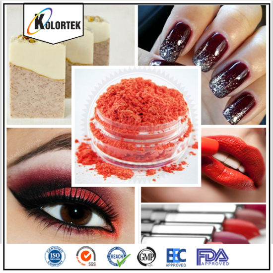 China Finest Ground Mica Pigment Cosmetic Makeup Pigment