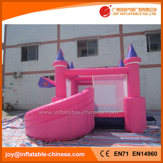 Princess Inflatable Jumping Bouncy Castle with Slide Combo Toy (T3-710) pictures & photos